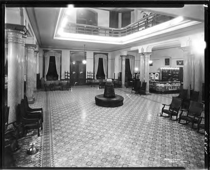 DeSoto Hotel Ballroom 1924
