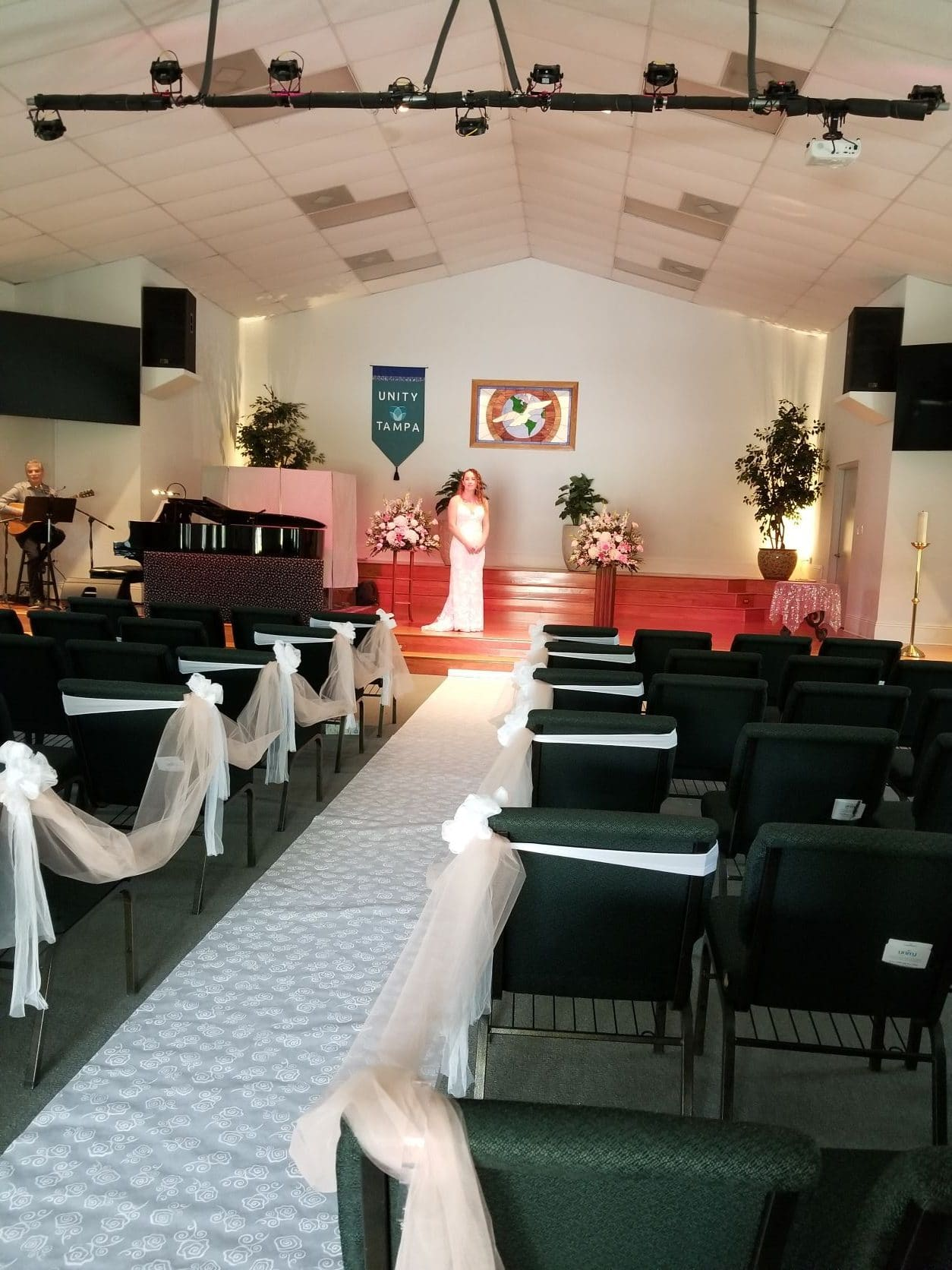 Unity of Tampa Sanctuary Wedding